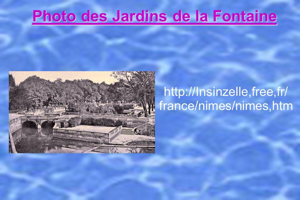 http://Insinzelle,free,fr/ france/nimes/nimes,htm Photo des Jardins de la Fontaine http://Insinzelle,free,fr/ france/nimes/nimes,htm