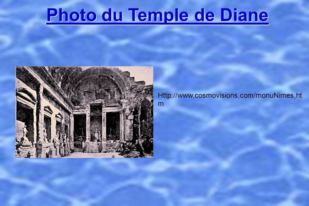 Photo du Temple de Diane Http://www,cosmovisions,com/monuNimes,ht m