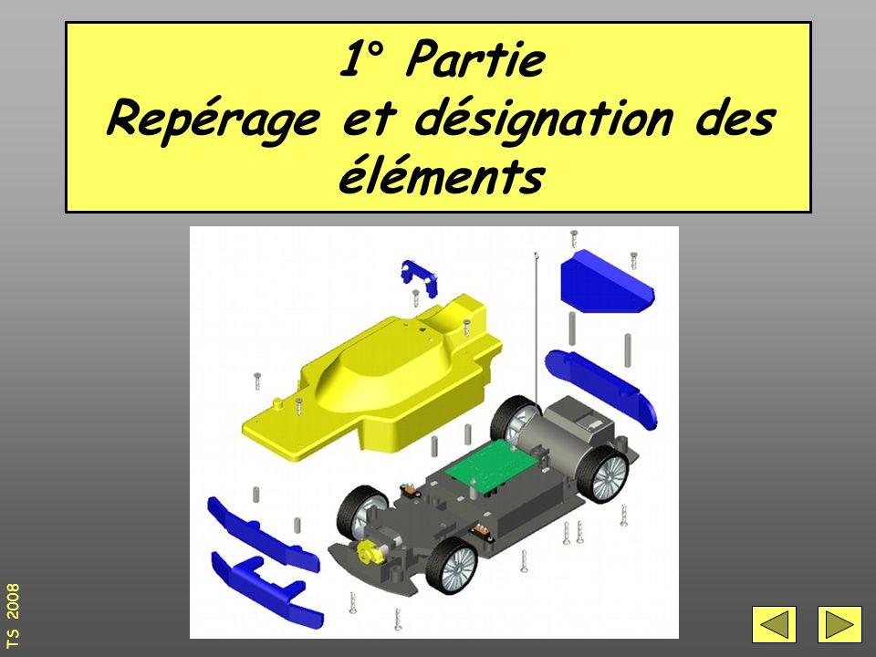 1° Partie Repérage et désignation des éléments TS 2008
