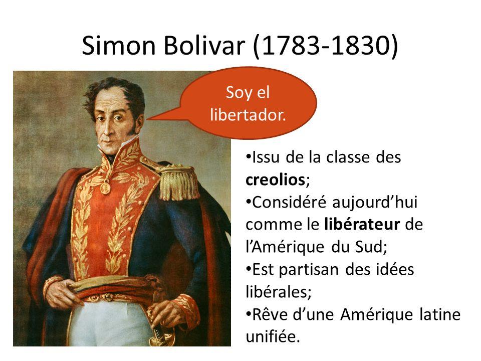 Simon Bolivar (1783-1830) Soy el libertador.