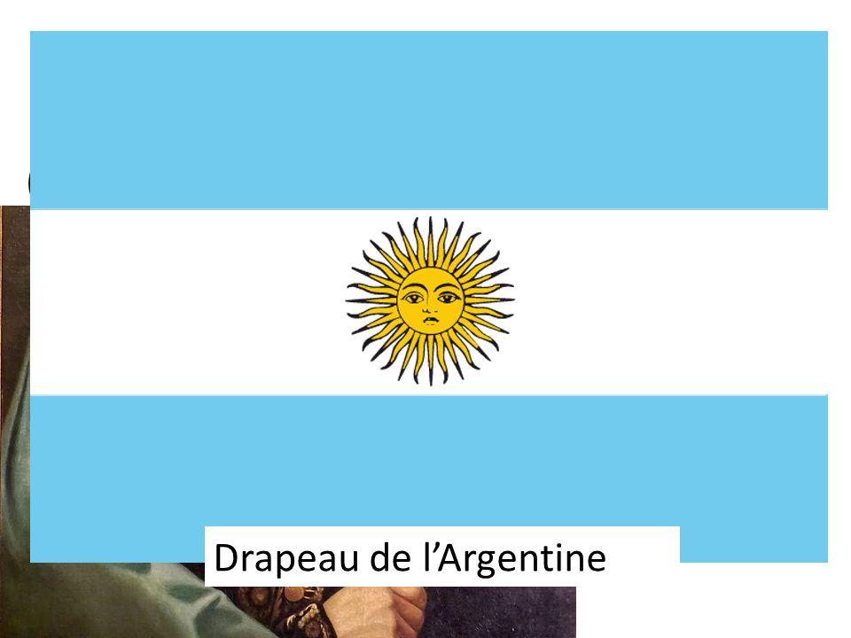 San Martin (1778-1850) Reconnaissez-vous le drapeau.