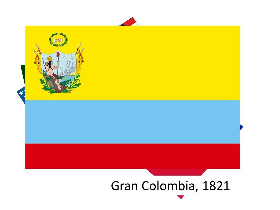 États-Unis d'Amérique, 1776 Haïti, 1802 Mexique, 1811 Gran Colombia, 1821