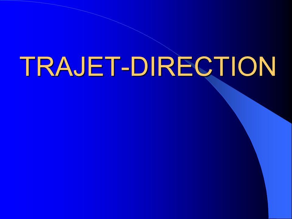 TRAJET-DIRECTION
