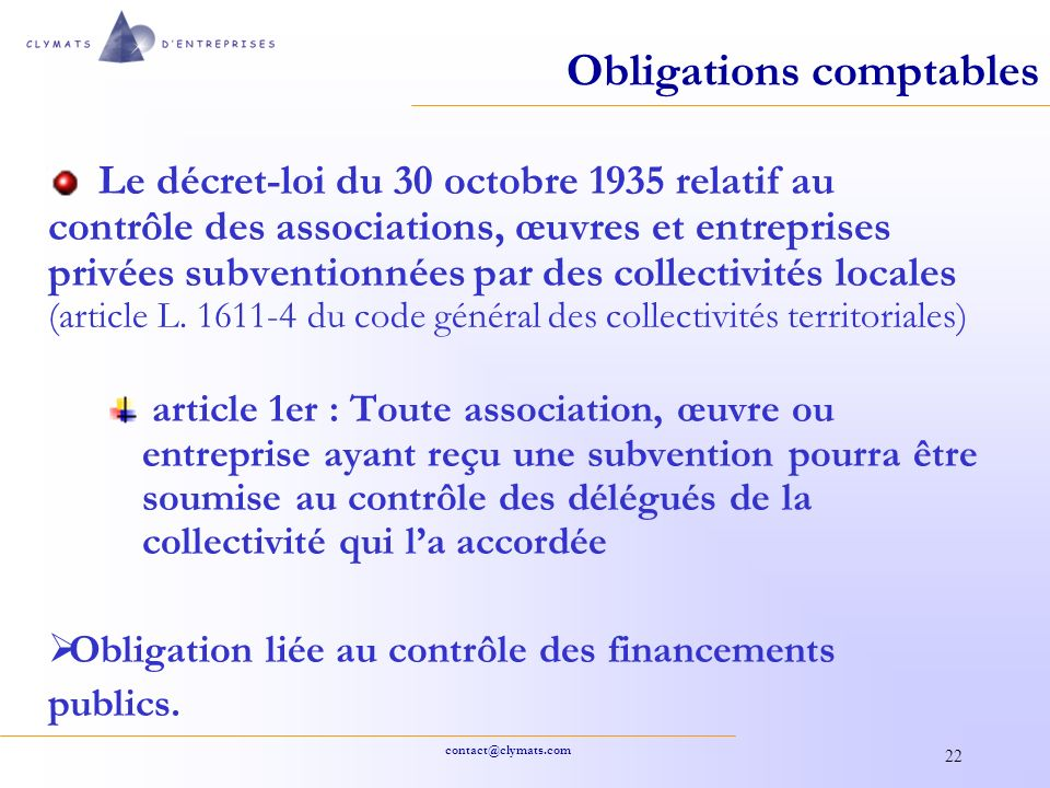 contrôle subvention association