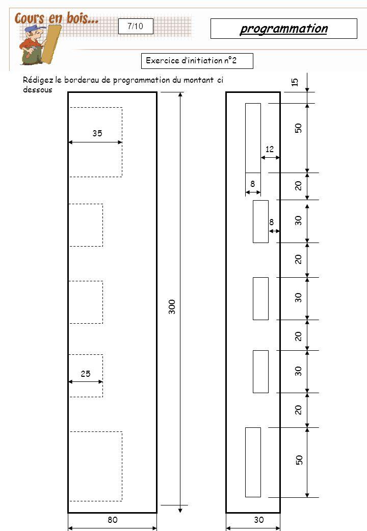 F 04 Fonctions de la machine Perçage 15 F 05 Fraisage linéaireafficher les valeurs: Donner la valeur de l'angle par rapport à l'horizontale en degrés positifs ou négatifs.