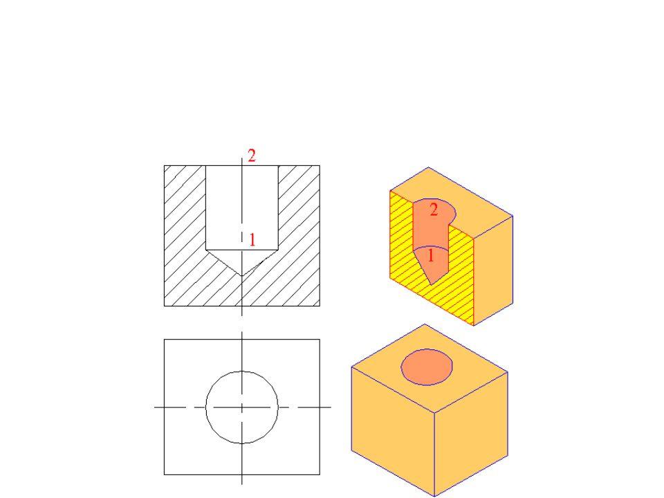 Trou borgne Un trou borgne est un trou qui ne perce pas complètement un objet et s arrête dans la matière.