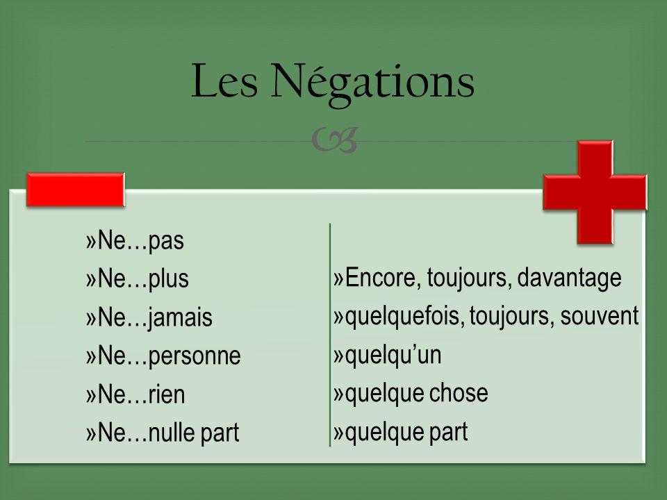 Przeczenie - gramatyka 12 - Francuski przy kawie