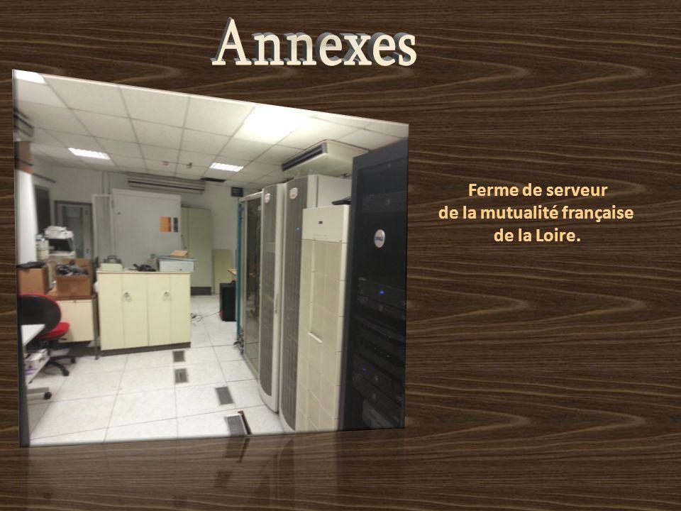 Ferme de serveur de la mutualité française de la Loire.