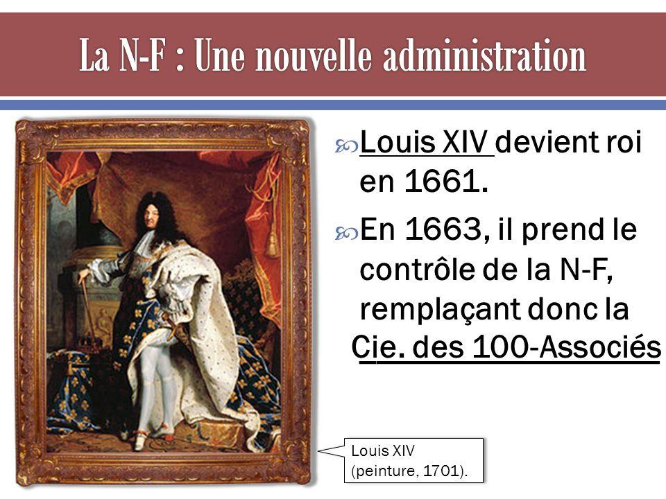  Louis XIV devient roi en 1661.