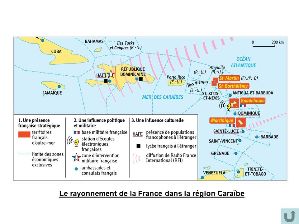 Le rayonnement de la France dans la région Caraïbe