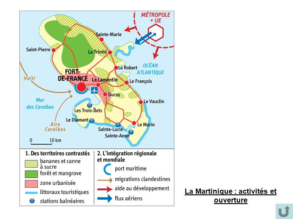 La Martinique : activités et ouverture