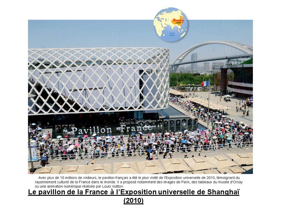 Le pavillon de la France à l'Exposition universelle de Shanghaï (2010)