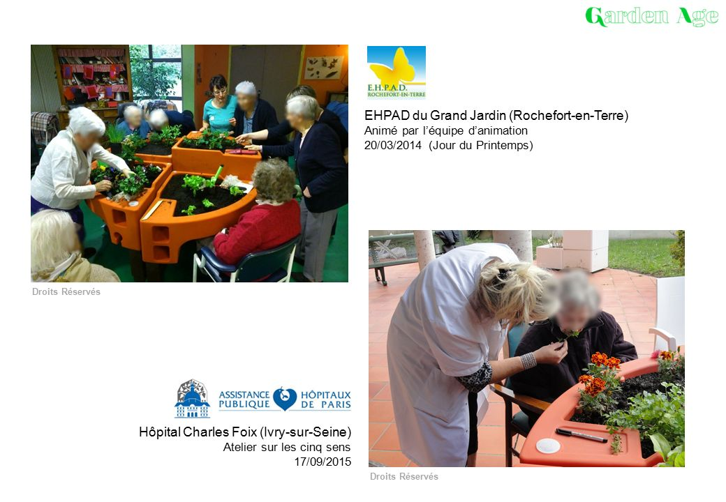Photo prise à l\'EHPAD Médicis à Labège « Celui qui plante un ...
