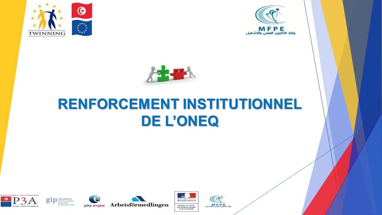 RENFORCEMENT INSTITUTIONNEL DE L'ONEQ