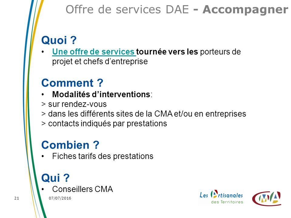 07/07/ Offre de services DAE - Accompagner Quoi .