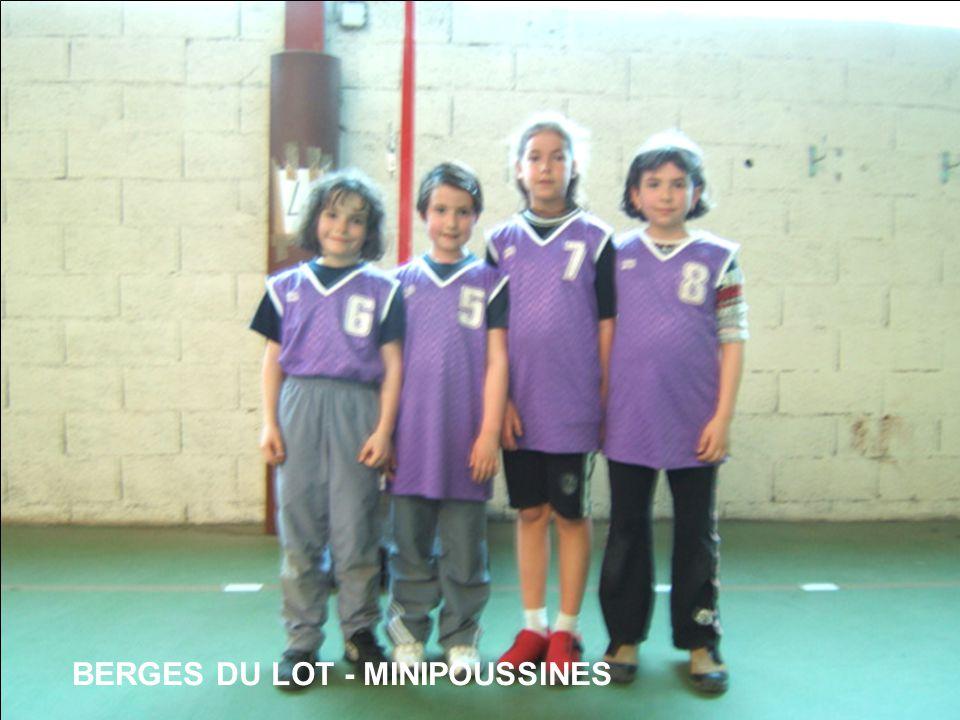 BERGES DU LOT - MINIPOUSSINES