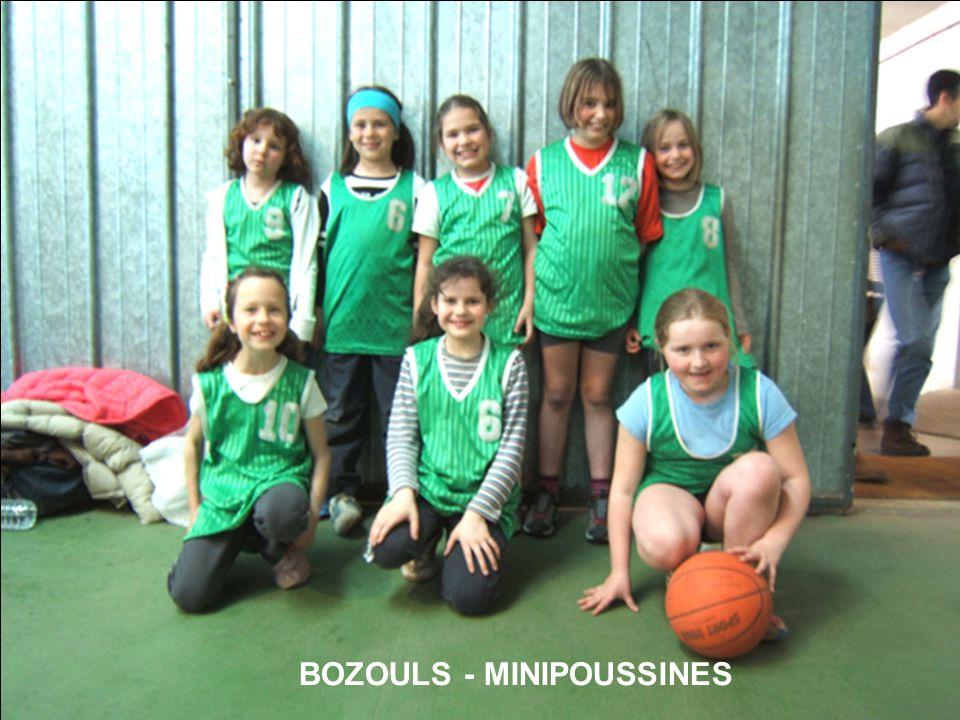 BOZOULS - MINIPOUSSINES