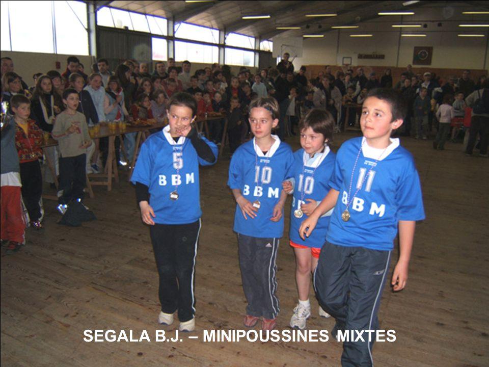 SEGALA B.J. – MINIPOUSSINES MIXTES