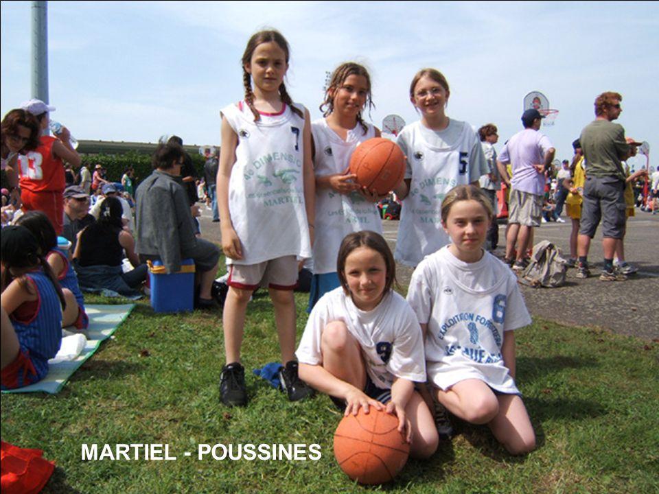 MARTIEL - POUSSINES