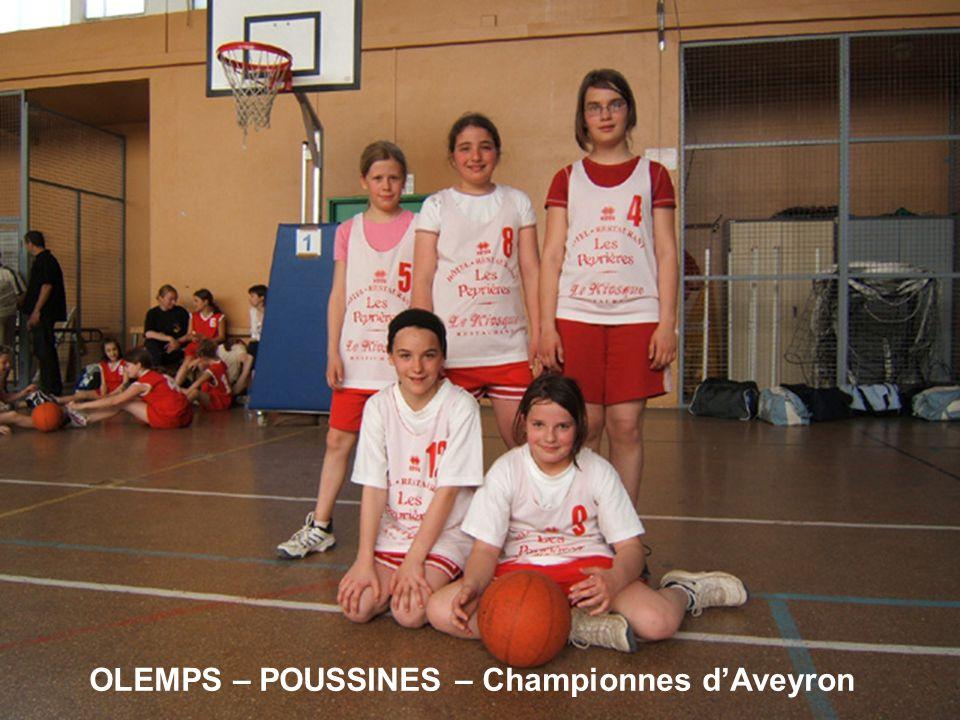 OLEMPS – POUSSINES – Championnes dAveyron