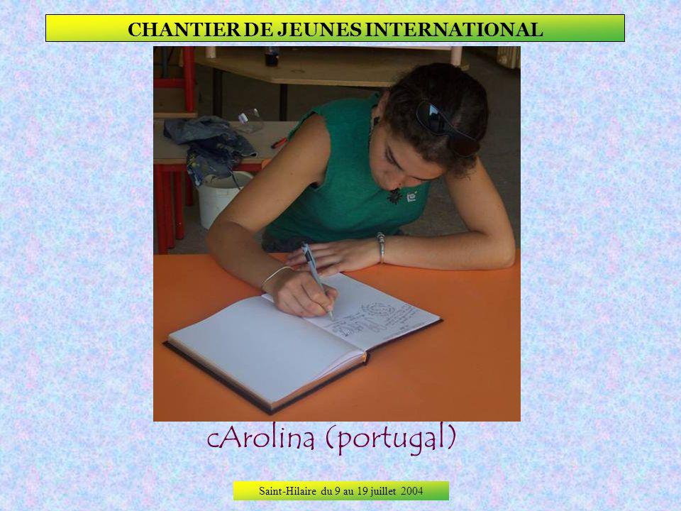 Saint-Hilaire du 9 au 19 juillet 2004 CHANTIER DE JEUNES INTERNATIONAL Signature du Livre dOr De la Commune De Saint-Hilaire.