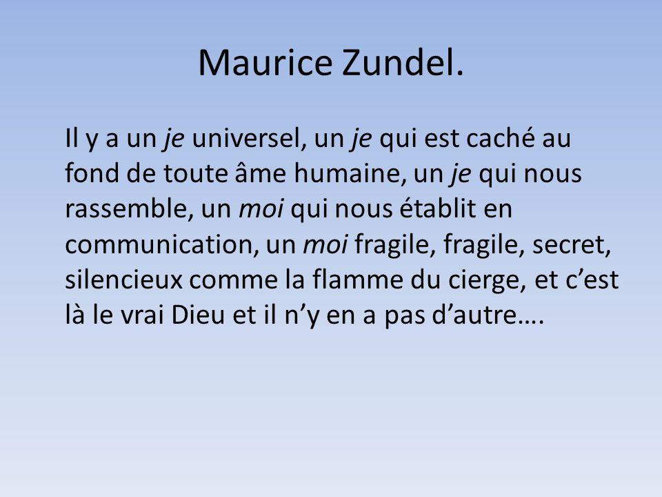 Maurice Zundel.