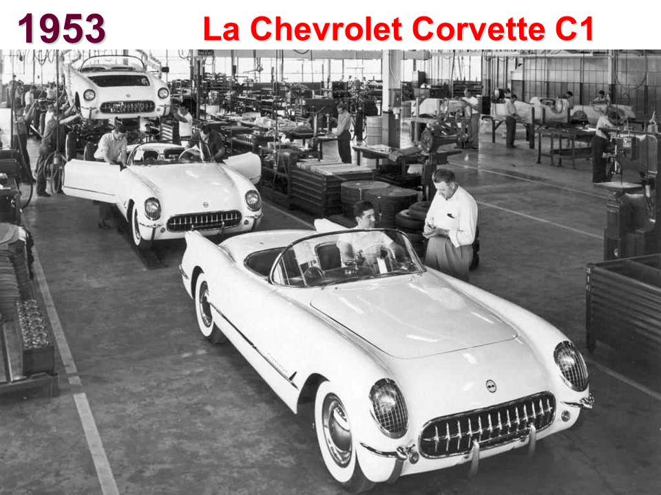 1953 La Chevrolet Corvette C1