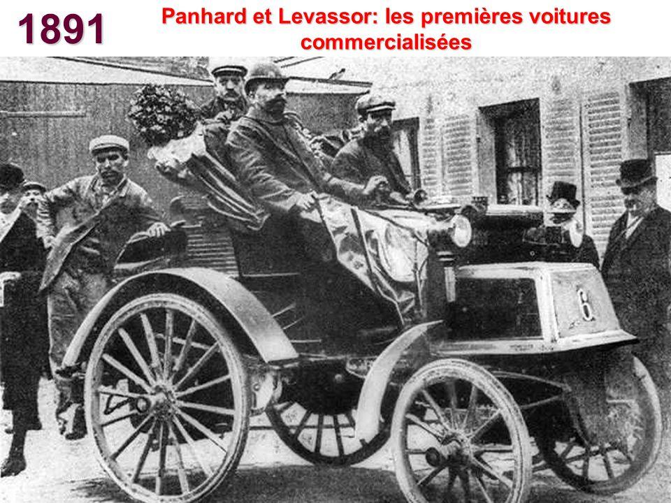 1891 Les premières automobiles Peugeot