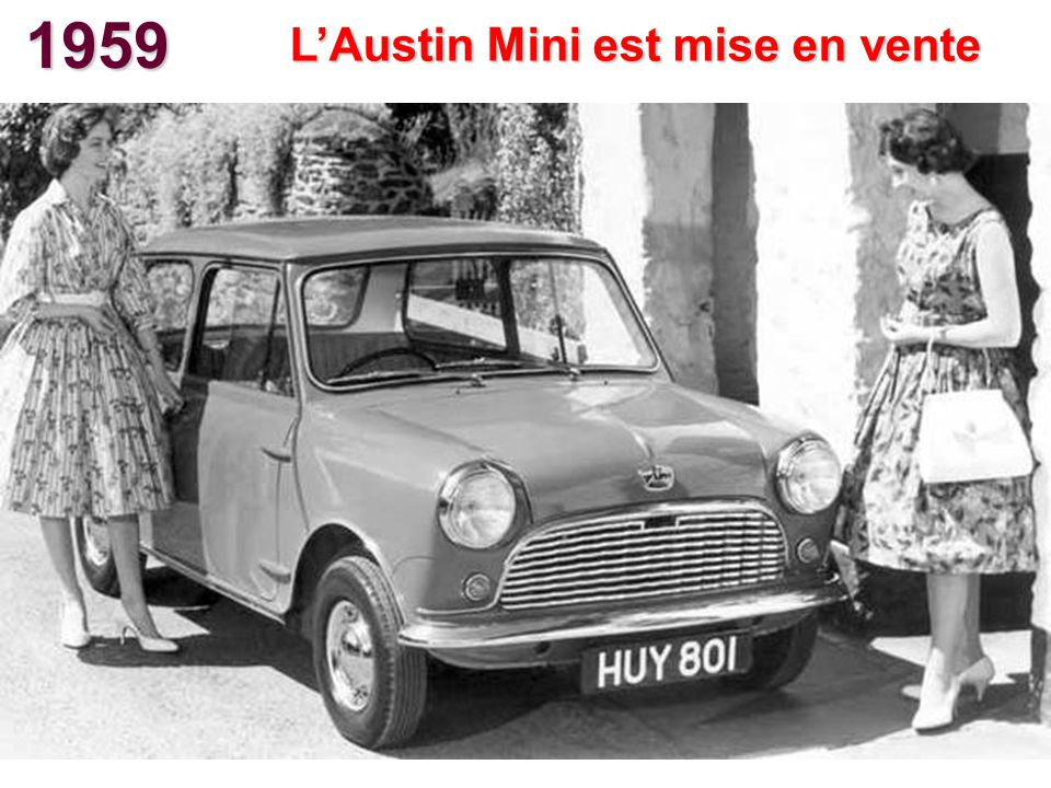 1959 LAustin Mini est mise en vente