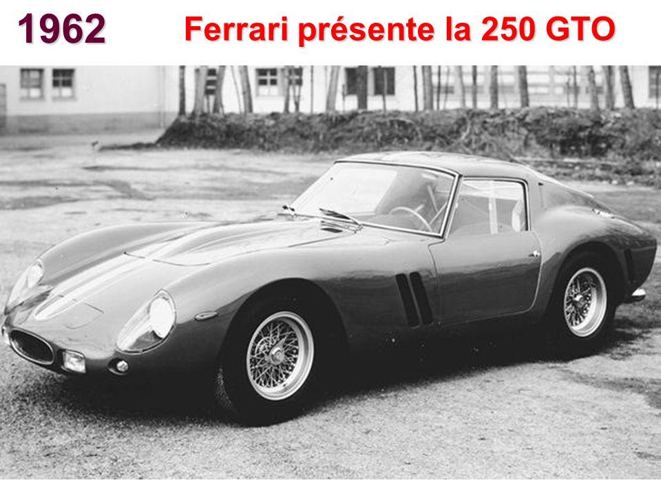 1962 Ferrari présente la 250 GTO