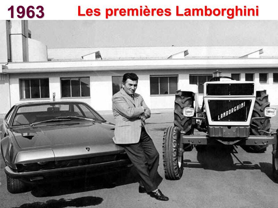 1963 Les premières Lamborghini