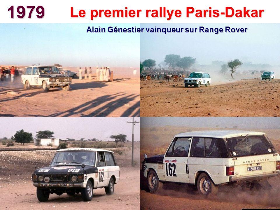 1979 Le premier rallye Paris-Dakar Alain Génestier vainqueur sur Range Rover
