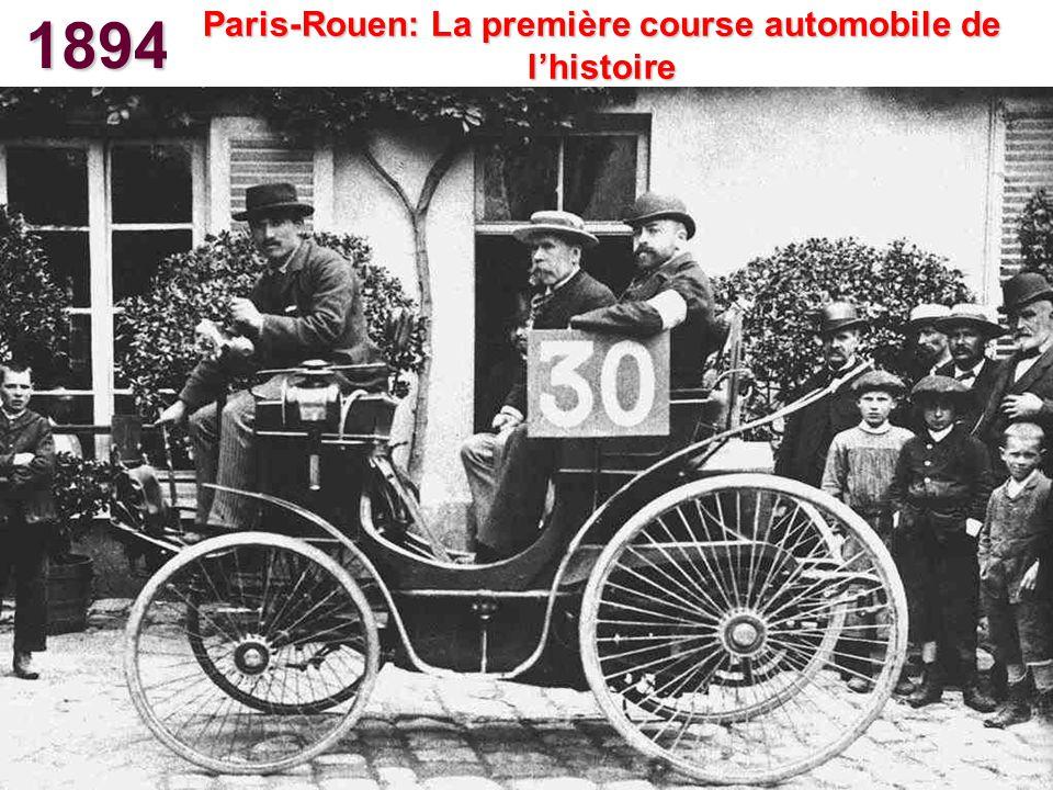 1901 Première automobile de série Américaine Oldsmobile Curved Dash