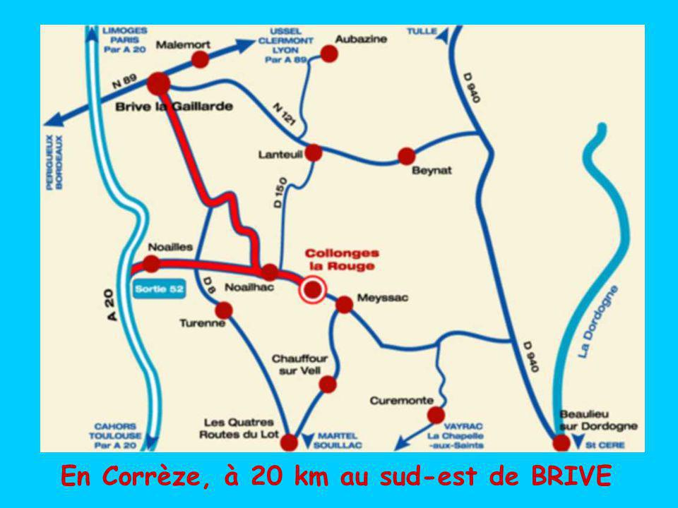 Le canal des moines à AUBAZINE ou les anciennes ardoisières de TRAVASSAC