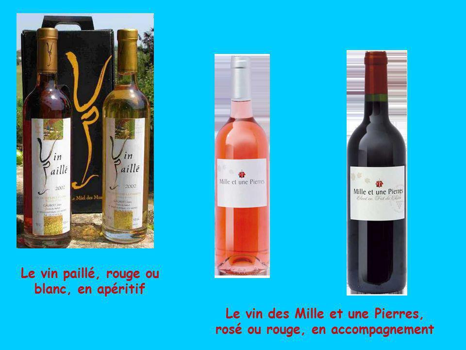 Autour de Collonges subsiste une production viticole originale et de qualité reconnue par une igp.