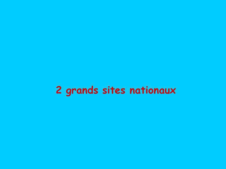 2 grands sites nationaux