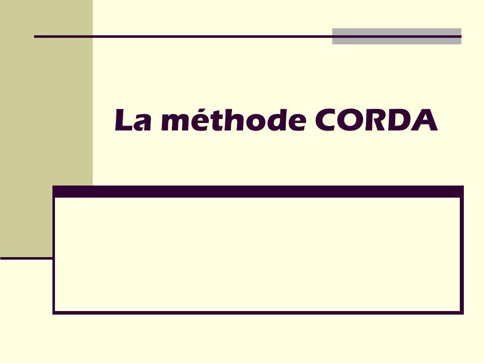 La méthode CORDA