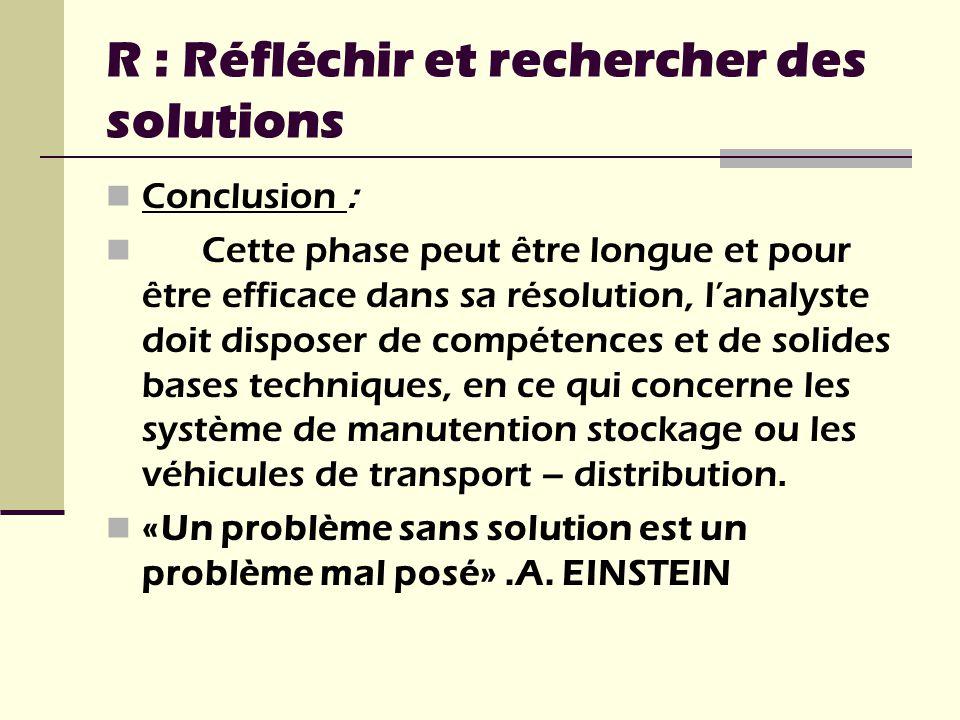 Conclusion : Cette phase peut être longue et pour être efficace dans sa résolution, lanalyste doit disposer de compétences et de solides bases techniq