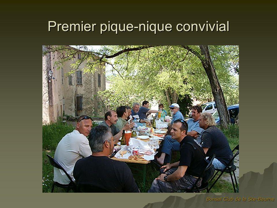 Bonsaï Club de la Ste-Baume Premier pique-nique convivial