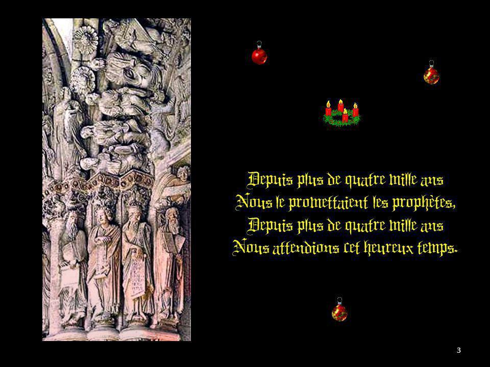 Il est né le Divin Enfant Jouez hautbois, Résonnez musettes Il est né le divin Enfant Chantons tous son avènement 2