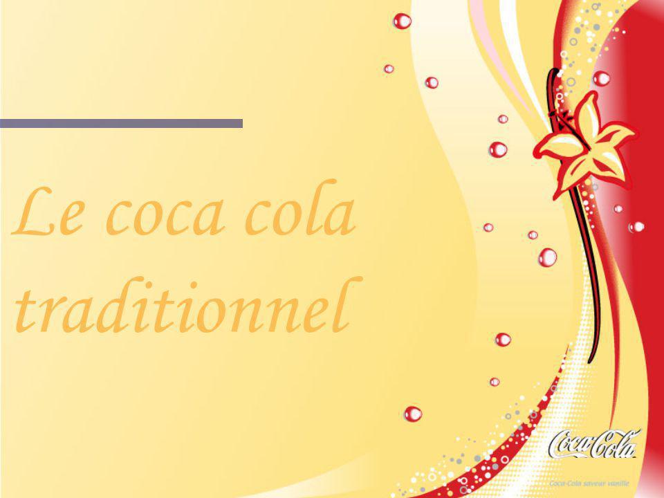 Le coca cola traditionnel