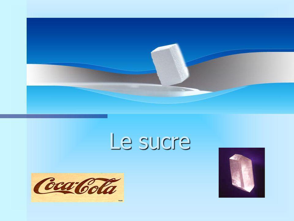 LE SUCRE n On a observ é que le coca traditionnel contenait une forte quantit é de sucre.