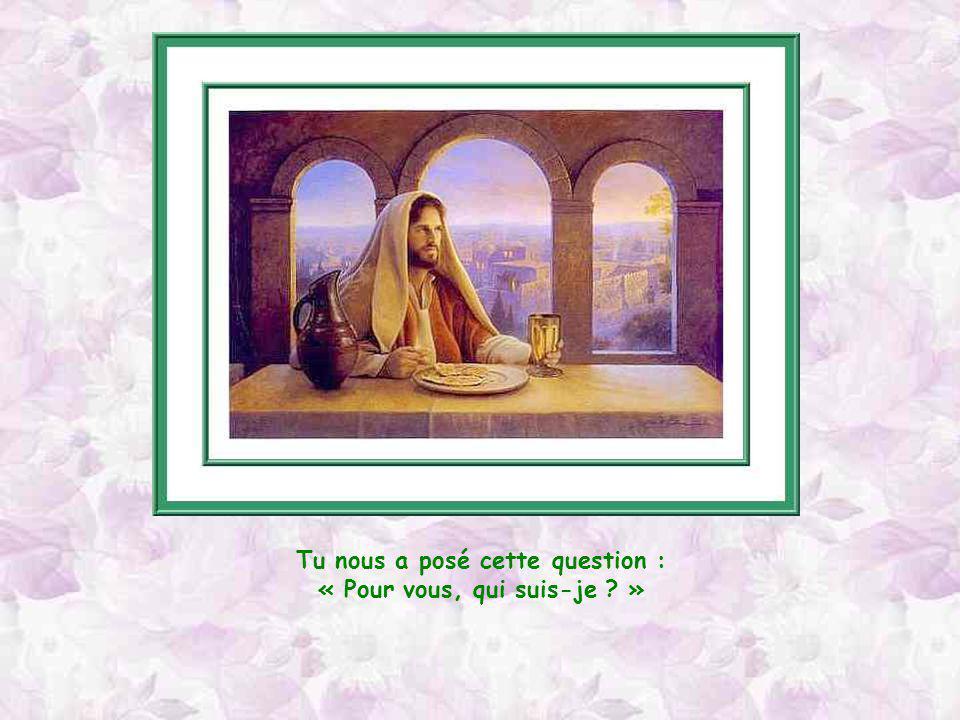 Aurélie répond ici, à sa manière, et avec son cœur, à la question de Jésus. A mon tour, je vous pose la question : « pour vous, qui est Jésus ? » Je s