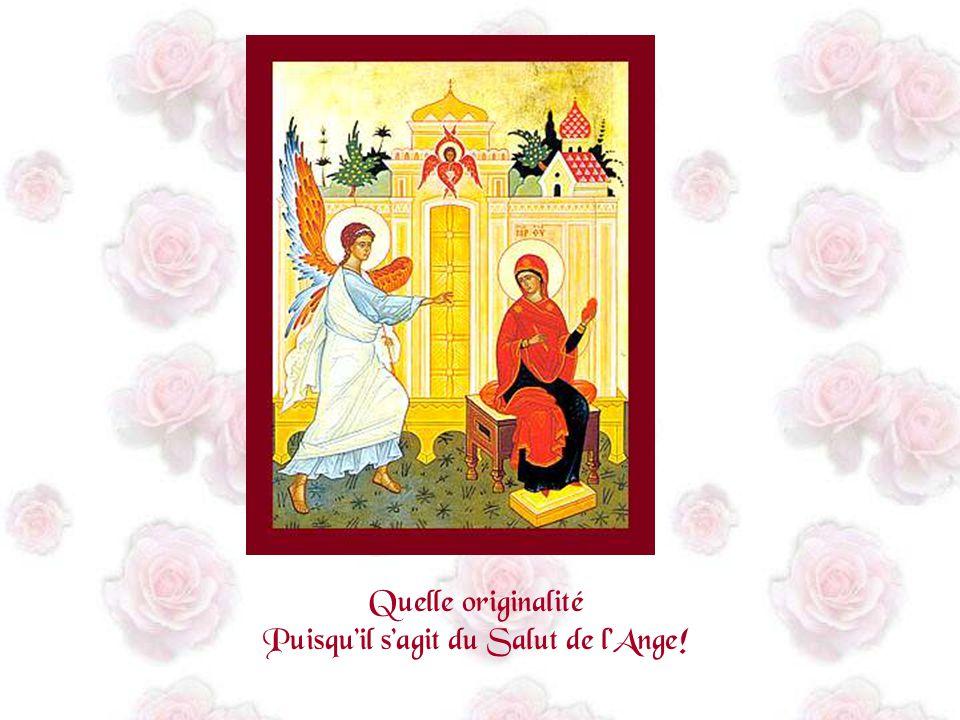 Je viens te prier pour te dire simplement « Je te salue Marie »