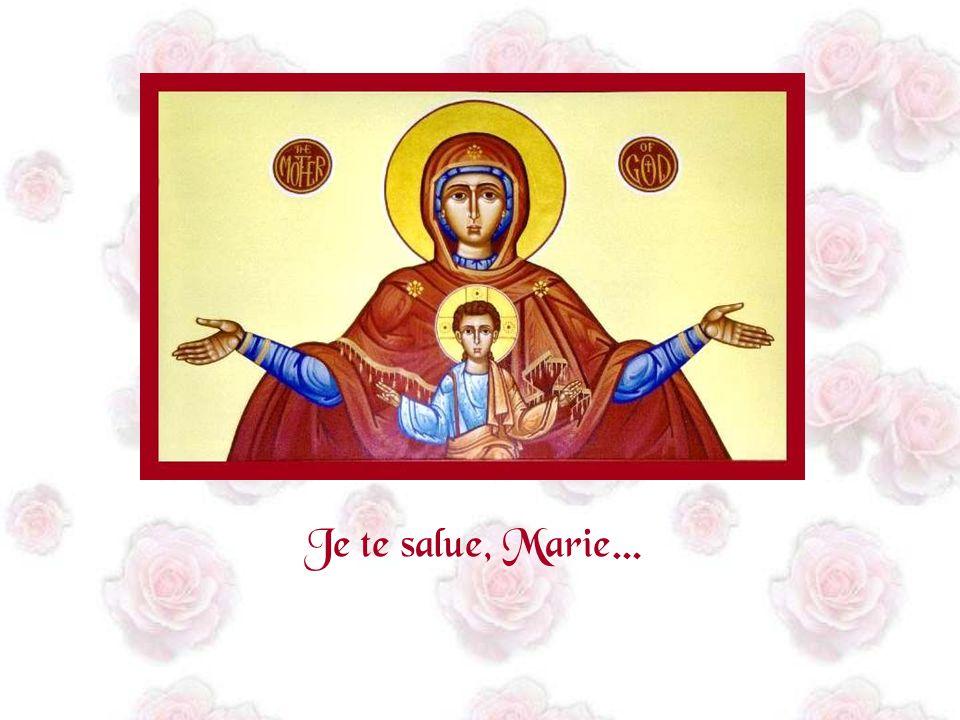 Mais je préfère encore Ce salut de lange, Cest la plus belle prière Que lon puisse tadresser.