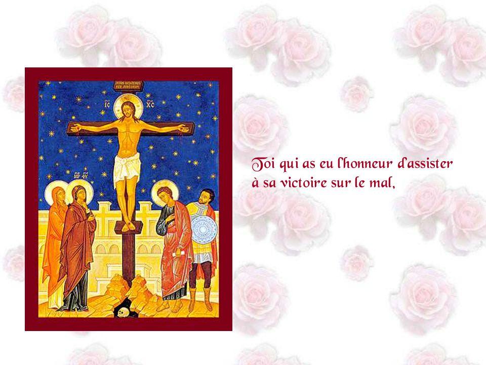 Toi qui as eu lhonneur daccueillir Celui qui est devenu le Christ,