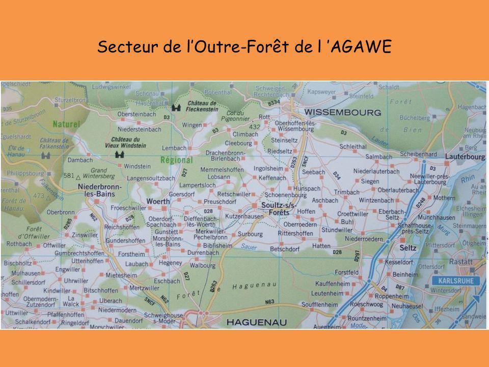 Secteur de lOutre-Forêt de l AGAWE