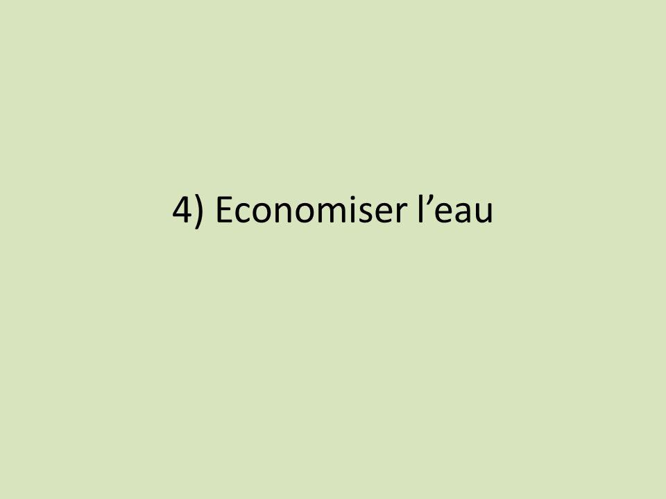 4) Economiser leau