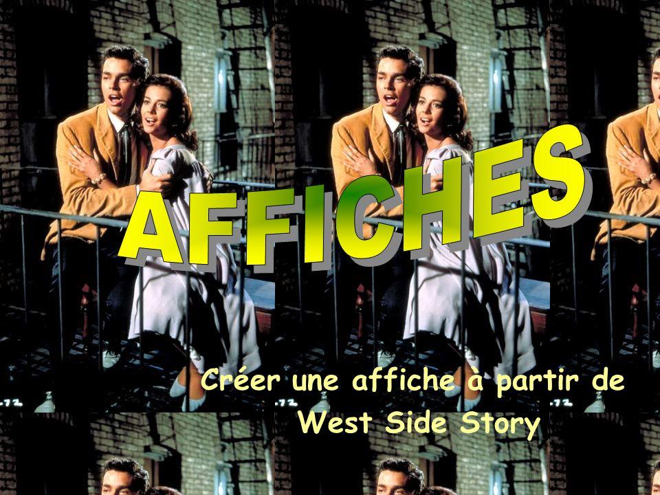 Il existe plusieurs modèles d affiches pour le film.