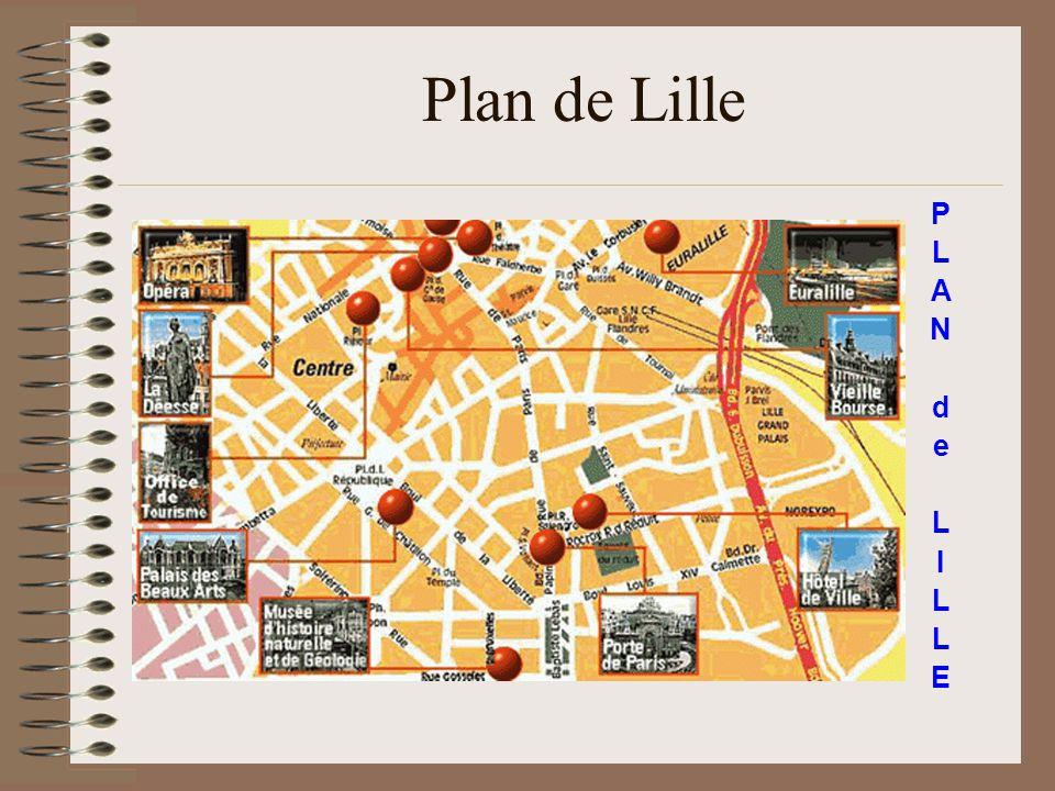 Plan de Lille P L A N d e L I L L E